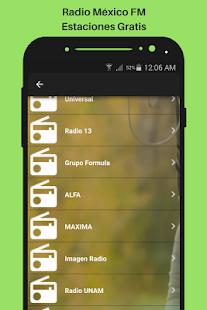 Radio México FM Estaciones Gratis - náhled