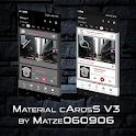 Material cArdsS V3 for KLWP icon