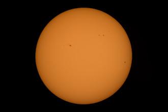 Photo: Sunspots
