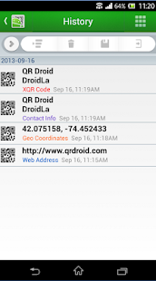 QR Droid Private™ (Português): miniatura da captura de tela