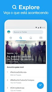 Twitter Lite Screenshot
