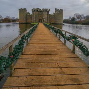 Bodiam Castle by Yordan Mihov - Buildings & Architecture Public & Historical ( uk, england, sussex, kent, bodiam castle )