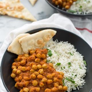 Slow Cooker Channa Masala.