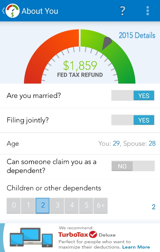 TaxCaster by TurboTax - Free- screenshot