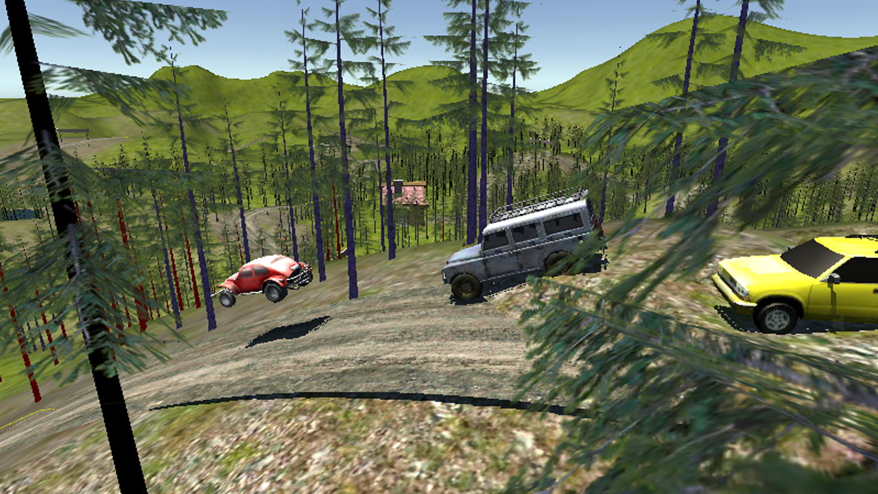 Racing game for mobile devices - Android - Off-road racer 3d