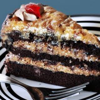 German Chocolate Cake.