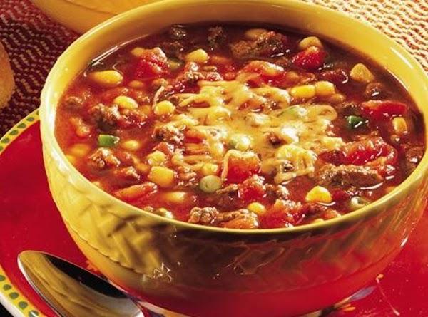 Tasty Taco Soup Recipe