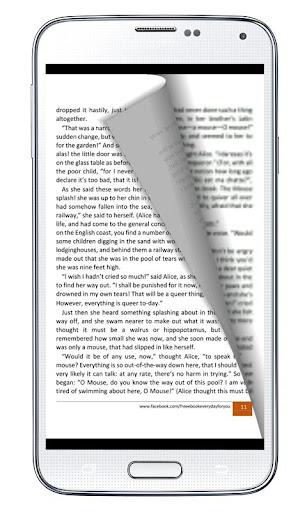 Alice in Wonderland eBook App