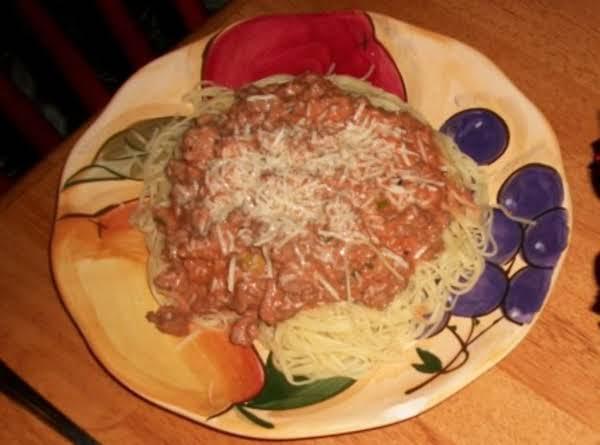 Spaghetti Al Formaggio Recipe