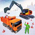 Snow Blower Excavator Crane Simulator icon