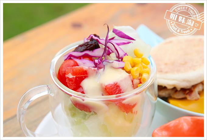小琉球荷花軒早午餐沙拉