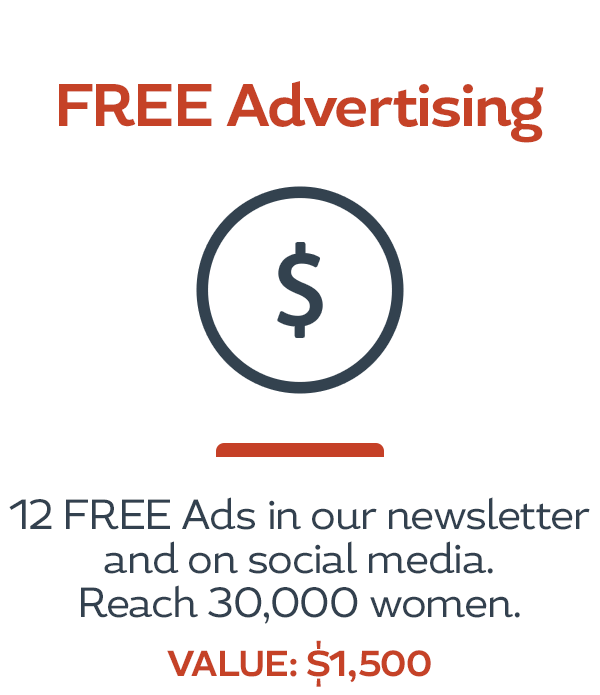HerBusiness Network Benefits - FREE Advertising