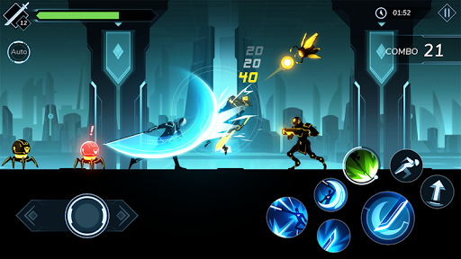 Overdrive II: Epic Battle Stickman - Fighter Game 1.1.3d screenshots hack proof 1