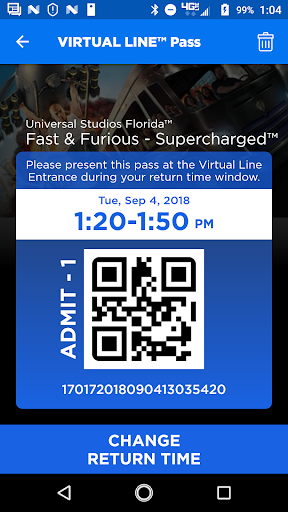 Universal Orlando Resortu2122 The Official App 1.32.0 Screenshots 4