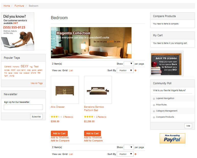 The Best Free Open Source Magento Templates 2014 | FireBear