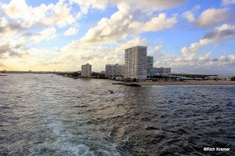 Photo: Leaving Ft. Lauderdale behind.