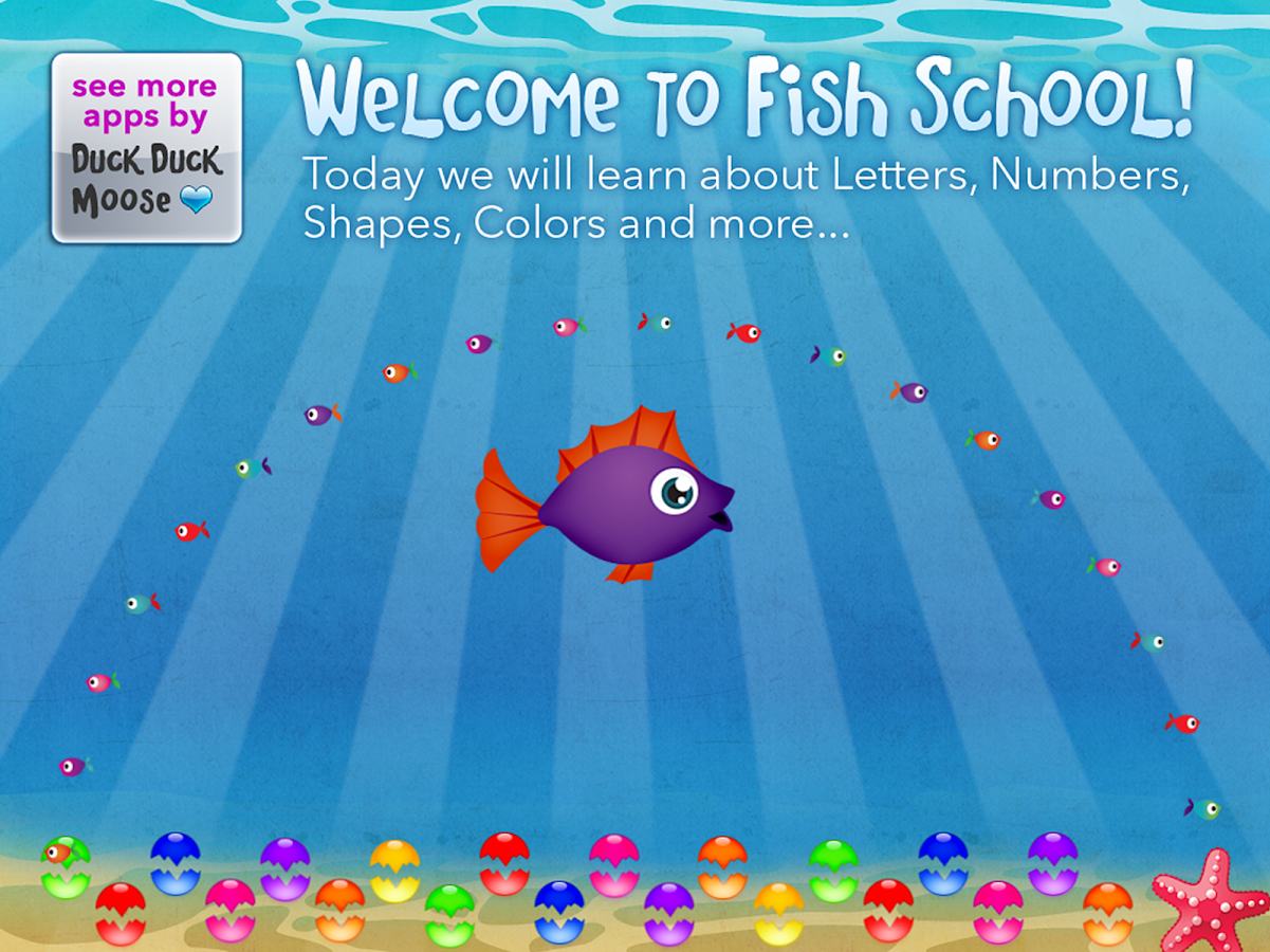 Fish School by Duck Duck Moose- screenshot