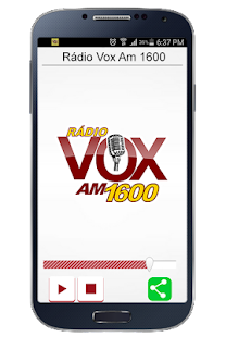 Rádio Vox Am 1600- screenshot thumbnail
