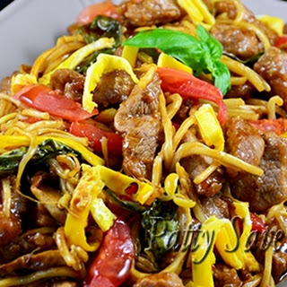 Pancit Canton Noodles – Pork and Veggies Stir Fry