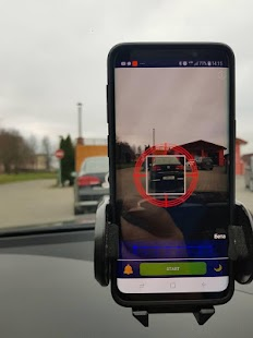 Truck Motion Detector Screenshot