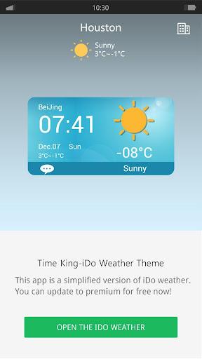 Spring - iDo Weather widget