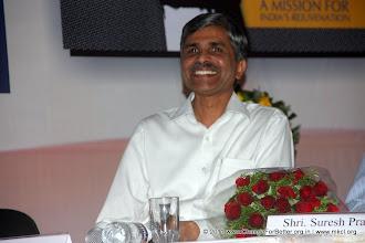 """Photo: Shri. Vevek Sawant - MD - MKCL Change for Better Release Function November 13, 2011. Shri. Suresh Prabhu, former Union Minister released """"Change for Better"""" at HMCT Auditorium, Pune"""
