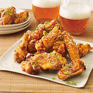 Twice-Fried Chicken Wings
