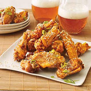 Twice-Fried Chicken Wings