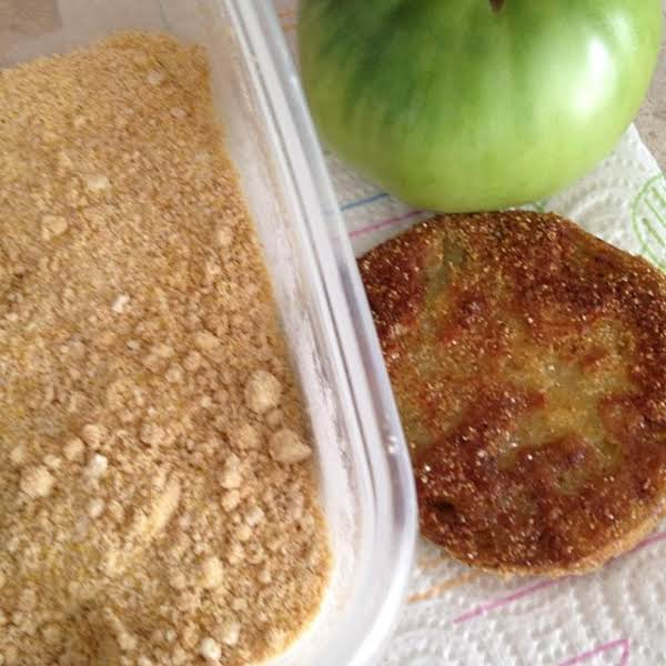 Butter And Garlic Fried Green Tomatoes Recipe