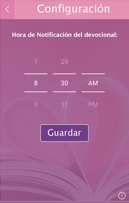 Devocionales para la Mujer - screenshot