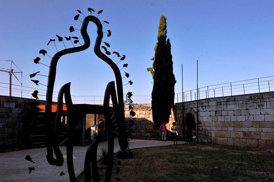 Castelo de Lamego mostra esculturas