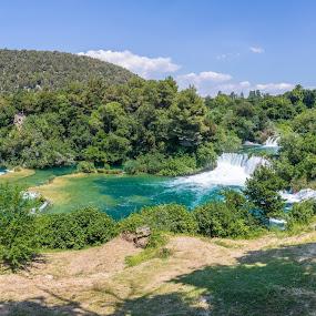 National park Krka by Ivica Bajčić - Landscapes Travel ( waterfalls, nature, croatia, krka, photography )
