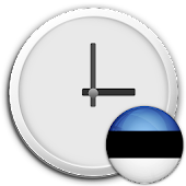 Estonia Clock & RSS Widget