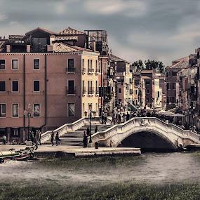 Venice by Maya Cvetojevic - City,  Street & Park  Street Scenes (  )