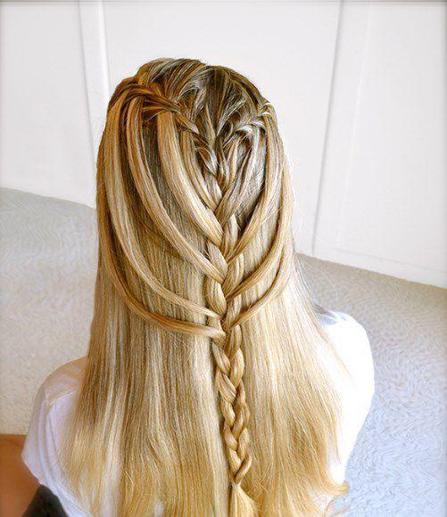 braided hair. braided hair models- screenshot