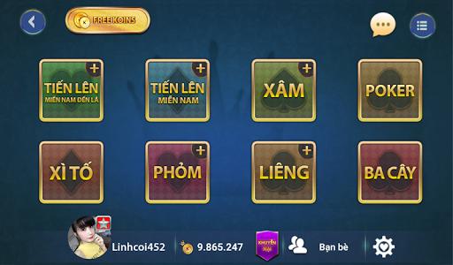 Game bai Online - Vua danh bai  screenshots 6