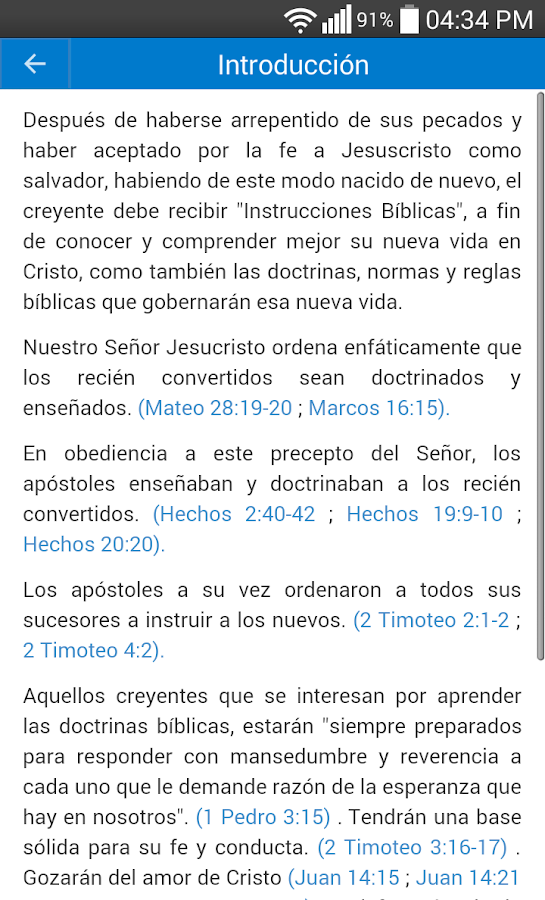 Doctrinario MMM Móvil App- screenshot