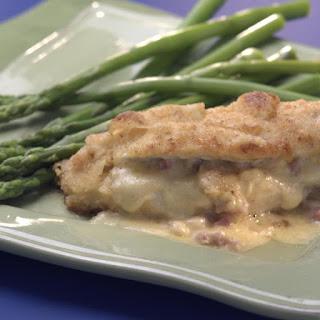 Ham-&-Cheese-Stuffed Chicken Breasts.