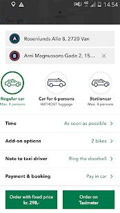 Taxa 4x35 (Taxi booking) - náhled