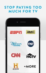 Sling TV: Stop Paying Too Much For TV! APK screenshot thumbnail 1