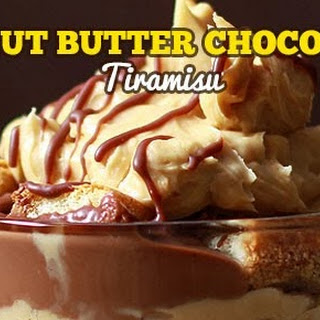 Peanut Butter Chocolate Tiramisu