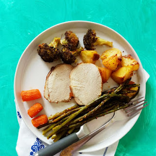 SHEET PAN DINNER – Pork Loin and Veggies (Easy Cleanup!) Recipe