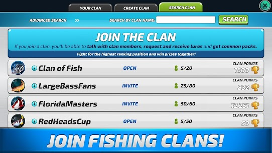 Fishing Clash: Catching Fish Game. Bass Hunting 3D 1.0.37 Mod Apk [Unlimited Money] 8