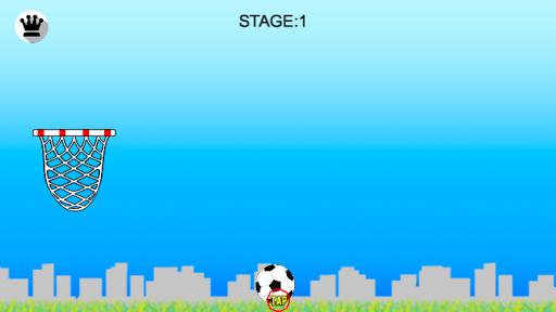 サッカーバスケ超絶フリーキック