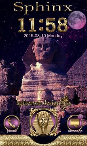 Sphinx Go Locker Theme