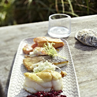Fried Fish with Coleslaw Two Ways.