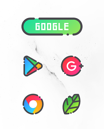 Download GRADION - Icon Pack MOD APK 1