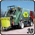 City Garbage Dump Truck Driver icon