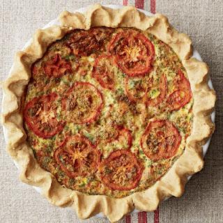 Gluten-Free Tomato Basil Quiche