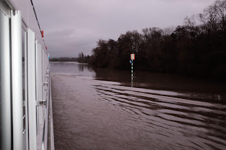 Photo: Winter river cruising